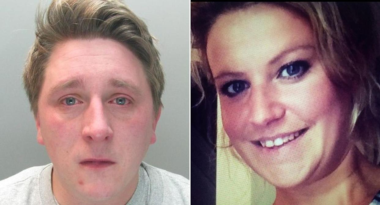 """Sam Pybus, 32, was drunk when he applied """"prolonged"""" pressure to Sophie Moss's neck at her home in Darlington in the early hours of February 7."""