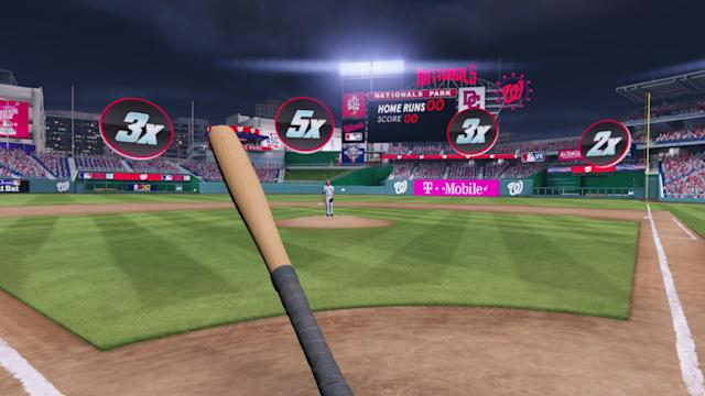 MLB announced Thursday that it's making a virtual reality Home Run Derby video game for console gamers. (MLBAM)