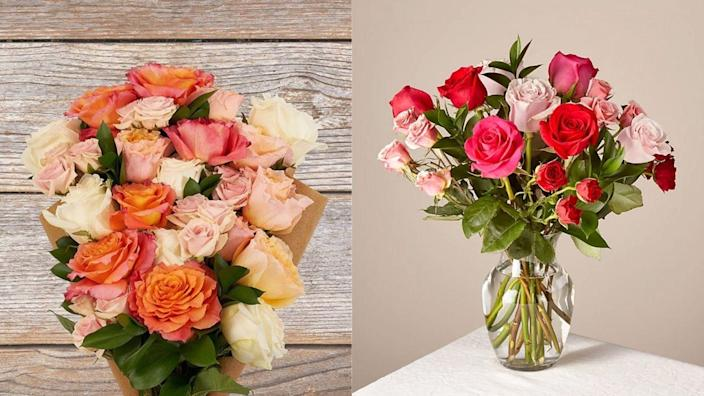 Get your sweetheart some gorgeous blooms.