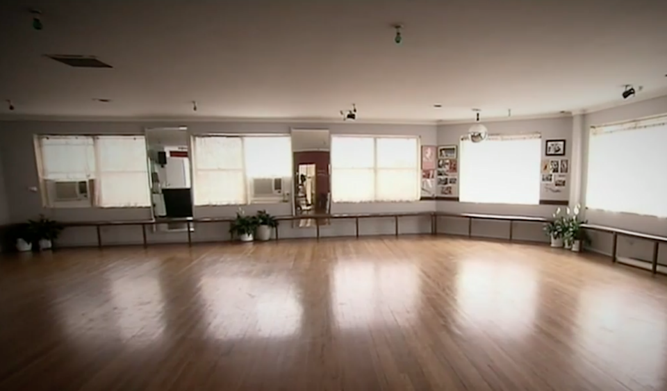 The seven-year-old girl was raped at a bathroom at a Sydney dance studio. Source: Nine News