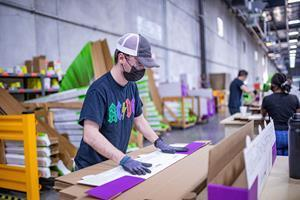 Trex currently employs 14 NW Works clients at its processing and shipping facility