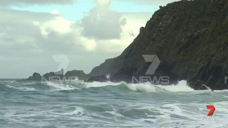 The debris was found washed up on the remote Kangaroo Island. Photo: 7 News