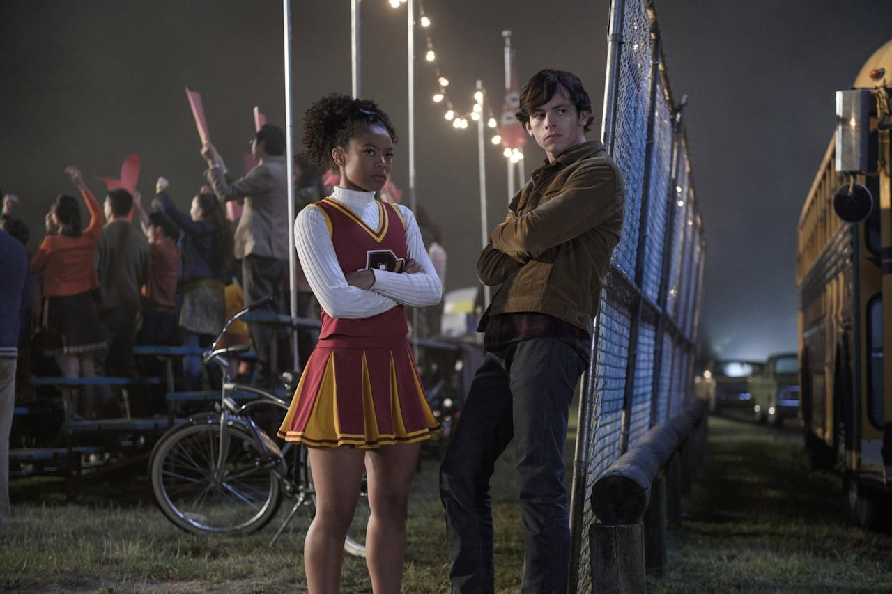 "<p>After their characters got together on <strong>Chilling Adventures of Sabrina</strong>, Jaz Sinclair and Ross Lynch were rumored to be an item in real life. Though the two have been notoriously private about their relationship, they did make <a href=""http://www.justjaredjr.com/2020/01/17/ross-lynch-jaz-sinclair-cozy-up-at-balmain-fashion-show-in-paris/"" target=""_blank"" class=""ga-track ga-track"" data-ga-category=""Related"" data-ga-label=""http://www.justjaredjr.com/2020/01/17/ross-lynch-jaz-sinclair-cozy-up-at-balmain-fashion-show-in-paris/"" data-ga-action=""In-Line Links"">their red carpet debut together</a> at the Balmain show in Paris in January 2020. </p>"