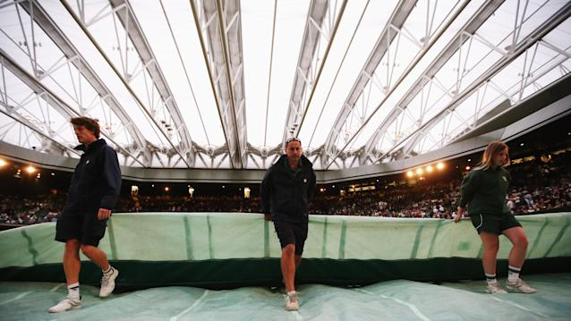 Wimbledon roof is great to ensure some tennis, but tournament still affected by rain