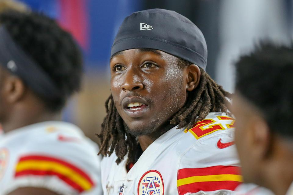 The Chiefs cut Kareem Hunt shortly after the NFL put him on the commissioner exemption list Friday. (Getty Images)