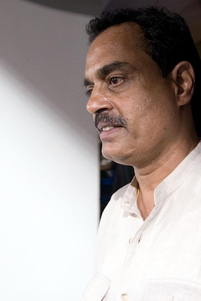 MUMBAI, INDIA - APRIL 03:  Dilip Vengsarkar looks on during the 2010 DLF Indian Premier League T20 group stage match between Mumbai Indians and Deccan Chargers played at Brabourne Stadium on April 3, 2010 in Mumbai, India.  (Photo by Ritam Banerjee-IPL 2010/IPL via Getty Images)