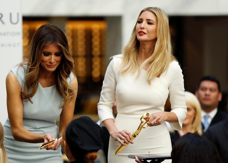 White House 'Family Office' To Be Shared By Melania And Ivanka Trump