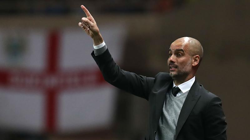Pep Guardiola Monaco manchester City Champions league 15032017