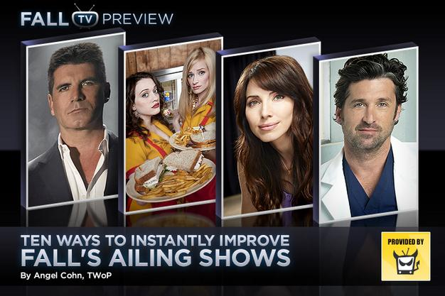 Ten Ways to Instantly Improve Fall's Ailing Shows