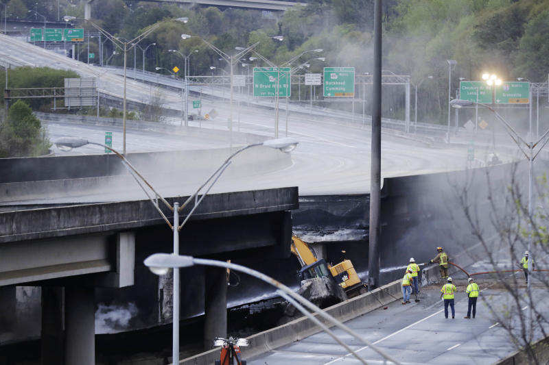 Georgia Man Charged In Connection With Fire That Led to Atlanta Bridge Collapse