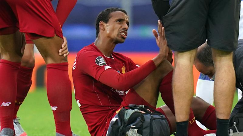 Matip to miss the rest of Liverpool's season with foot injury