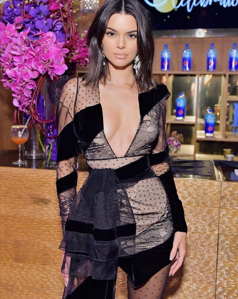 """For Kendall Jenner, it's all about heat-infused workouts. """"I feel like I get my best workout when I sweat a lot, so hot yoga is definitely my exercise obsession at the moment""""."""