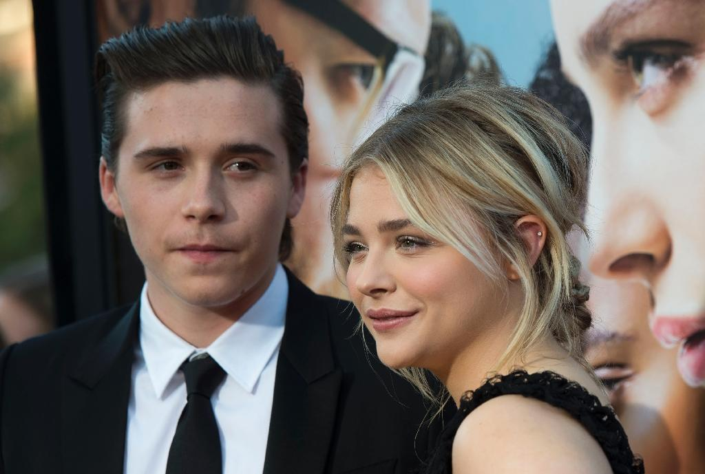 Aged only 17, Brooklyn Beckham (L) has nine million followers on Instagram and after two years as a model he has branched out into fashion photography (AFP Photo/VALERIE MACON)