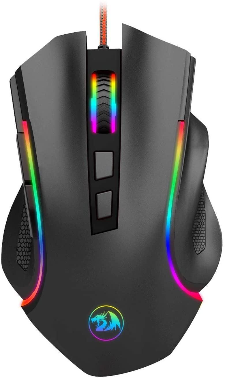 <p>Complete any keyboard gift with this <span>Wired Gaming Mouse</span> ($18).</p>