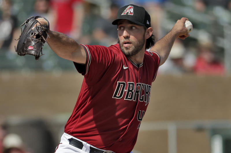 D-backs' MadBum back on mound, tries to stay healthy in camp