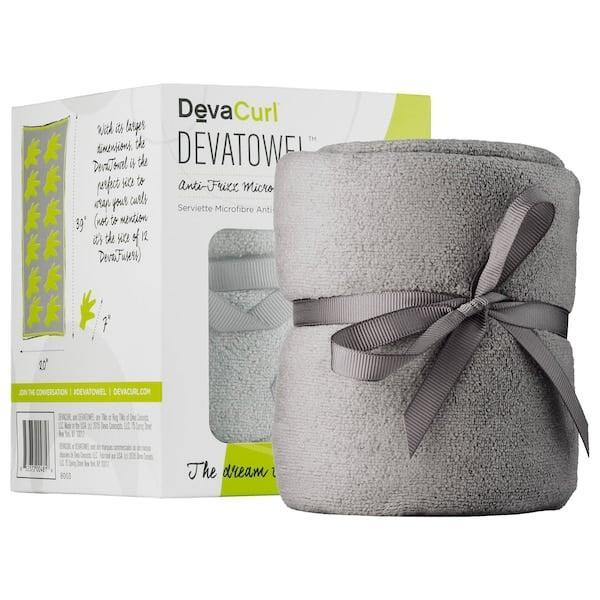 <p>Typical bathroom towels do a disservice to curly hair by promoting frizziness - that's why a towel like the <span>DevaCurl Anti-Frizz Microfiber Towel</span> ($20) is a must. It's designed to dry off the curls while still keeping them defined and frizz-free.</p>