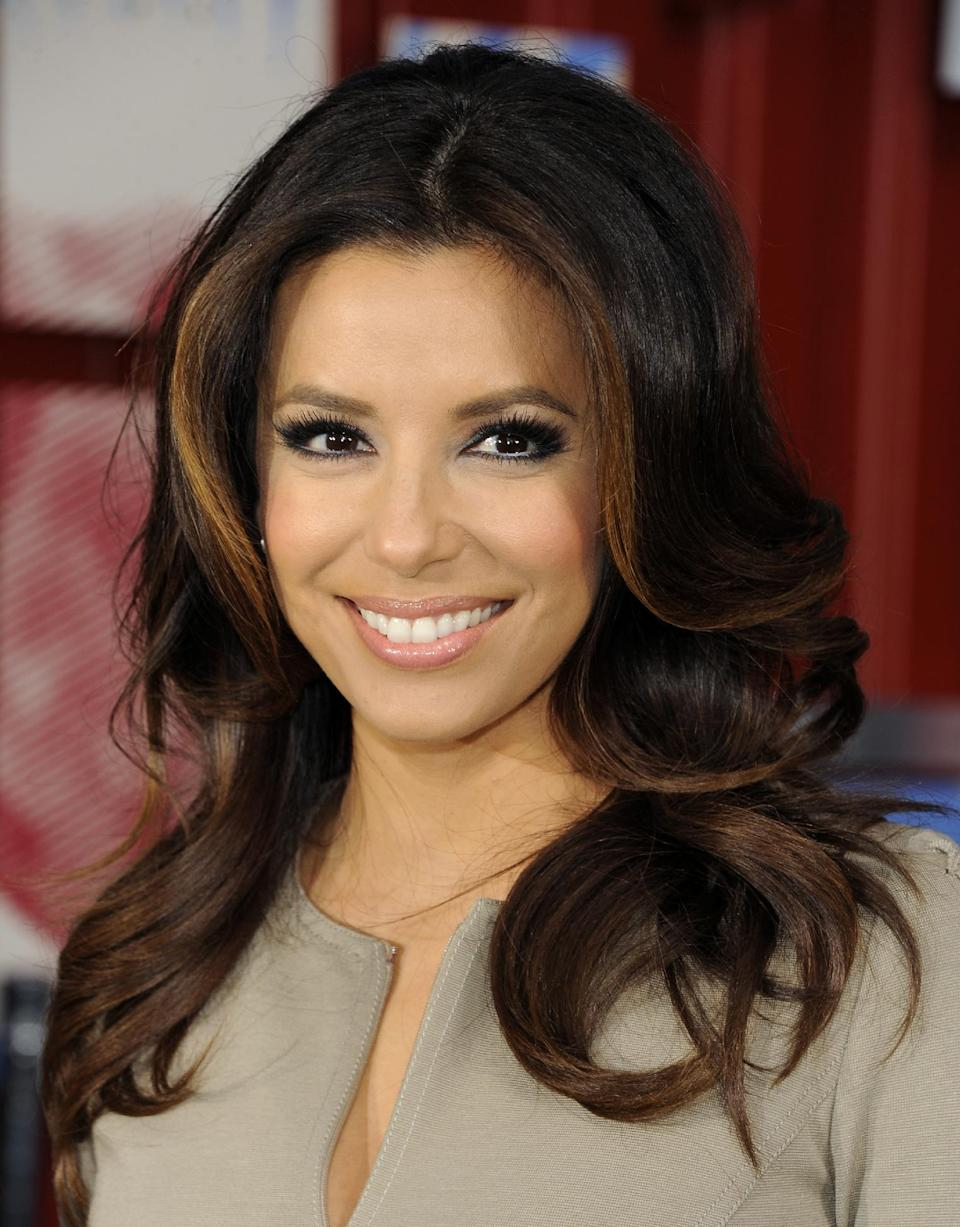 "<b>Eva Longoria:</b> ""My heart goes out to all the people affected in the Aurora, CO shooting. May God be with that town and their families..."" (AP Photo/Evan Agostini, File)"
