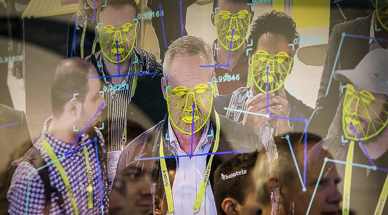 Facial recognition Indian Railway KSR Bengaluru smart cameras human trafficking criminals railway stations