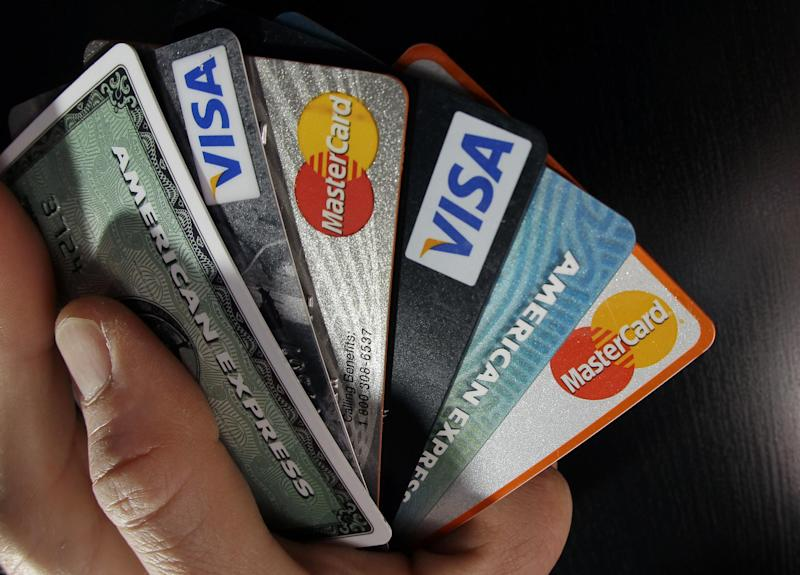 Credit cards: AP