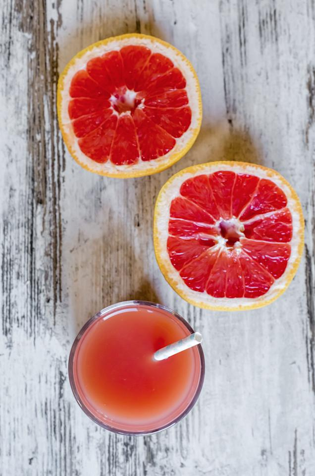 <p>High in vitamin C and antioxidants, eating or drinking grapefruit increases the natural cleansing process of the liver, boosting the production of detoxification enzymes that help flush out carcinogens and other toxins.</p><p><i>[Photo: REX/Shutterstock]</i><br /></p>