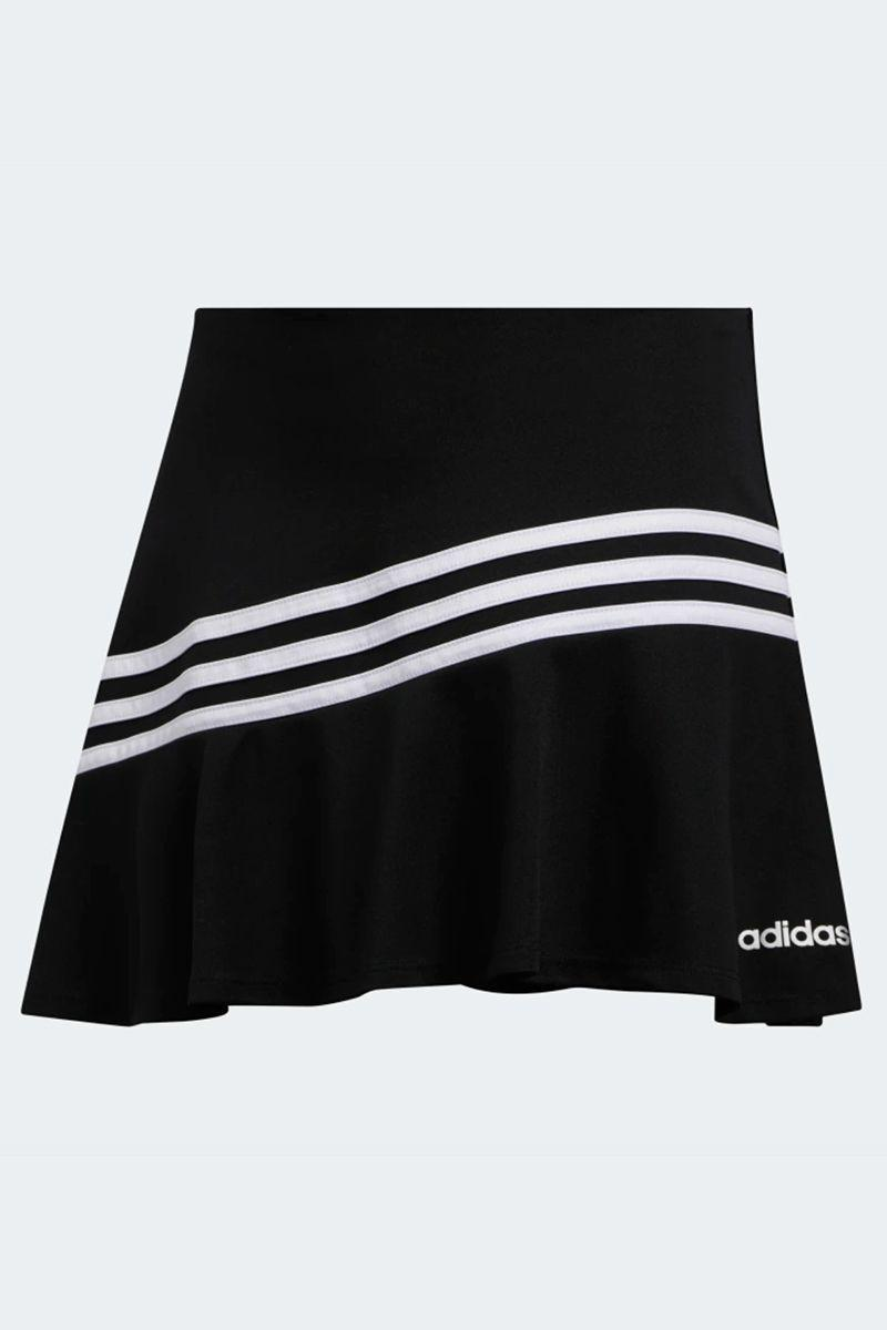 """<p><strong>Adidas</strong></p><p>adidas.com</p><p><strong>$39.00</strong></p><p><a href=""""https://go.redirectingat.com?id=74968X1596630&url=https%3A%2F%2Fwww.adidas.com%2Fus%2Fmatch-skort%2FFK0556.html&sref=https%3A%2F%2Fwww.marieclaire.com%2Ffashion%2Fg33310213%2Fexercise-skorts%2F"""" rel=""""nofollow noopener"""" target=""""_blank"""" data-ylk=""""slk:SHOP IT"""" class=""""link rapid-noclick-resp"""">SHOP IT</a></p><p>Before you head to the court, gear up in your favorite tennis pieces. This skort is specifically cut for on-court movement and comes with attached tights for further coverage. If you tend to get super sweaty during the game, don't worry—this skort is designed to absorb moisture. </p>"""
