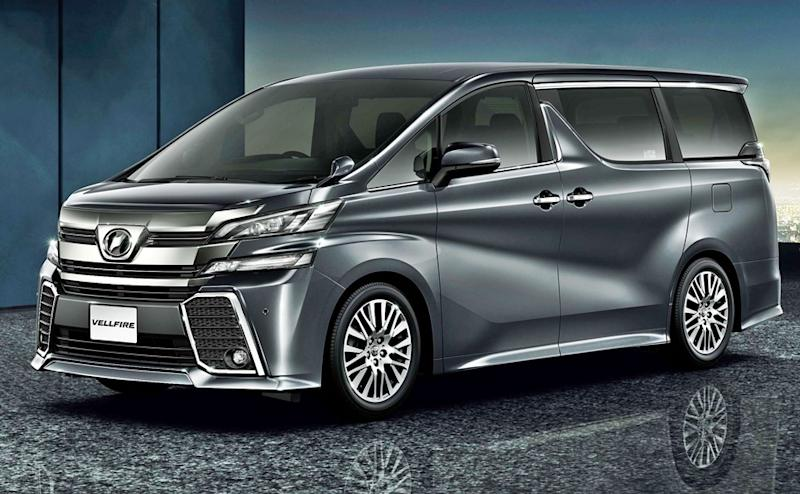 Toyota Vellfire India launch