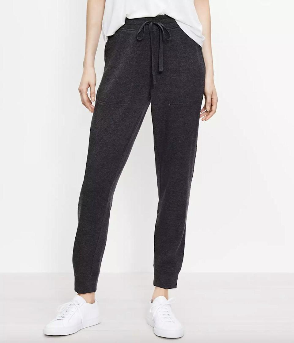 <p>Customers are obsessed with these super soft <span> Lou &amp; Grey Signaturesoft Plush Upstate Sweatpants </span> ($70). They're the perfect lounge and errand-running pants.</p>