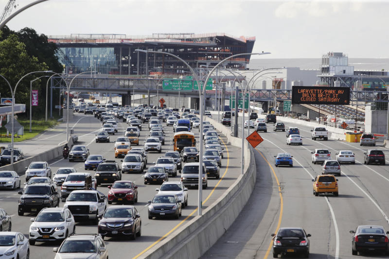 Trump proposes car-mileage rollback; states sue in protest