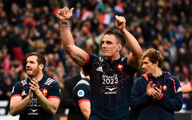 Louis Picamoles celebrates following his side's dramatic win - AFP or licensors