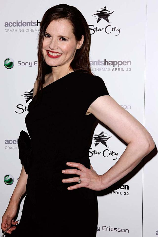 "January 21: Geena Davis turns 55 Brendon Thorne/<a href=""http://www.gettyimages.com/"" target=""new"">GettyImages.com</a> - April 14, 2010"