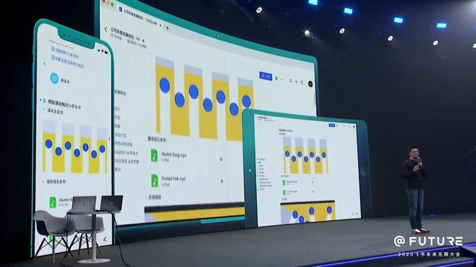 In a renewed focus on enterprise collaboration software, ByteDance launched a dedicated app for Feishu cloud documents last November. Picture: Screenshot/Feishu