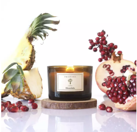 PHOTO: Lazada. Scented soy candles.