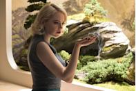 """<p>Golden Globe winner Emma Stone makes her Netflix debut as Annie Landsberg alongside Jonah Hill's Owen Milgrim in <em>Maniac. </em>The new dramedy finds Annie and Owen placing trust in Dr. James Mantleray—played by Justin Theroux—a sinister scientist offering drugs in exchange for mental clarity.</p><p><a class=""""link rapid-noclick-resp"""" href=""""https://www.netflix.com/title/80124522"""" rel=""""nofollow noopener"""" target=""""_blank"""" data-ylk=""""slk:Watch Now"""">Watch Now</a><br></p>"""