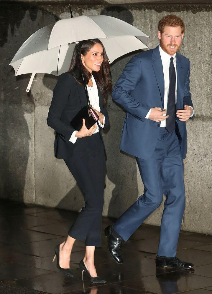 Meghan and Harry arrive at the Endeavor Fund Awards on February 1