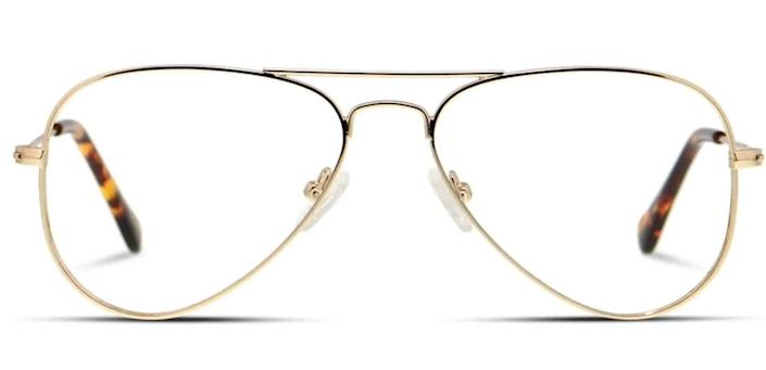 """These <a href=""""https://fave.co/3eVHGCP"""" rel=""""nofollow noopener"""" target=""""_blank"""" data-ylk=""""slk:wire-rimmed kids blue light-blocking glasses"""" class=""""link rapid-noclick-resp"""">wire-rimmed kids blue light-blocking glasses</a> come in four colors. Find them for $48 at <a href=""""https://fave.co/3eVHGCP"""" rel=""""nofollow noopener"""" target=""""_blank"""" data-ylk=""""slk:Glasses USA"""" class=""""link rapid-noclick-resp"""">Glasses USA</a>."""