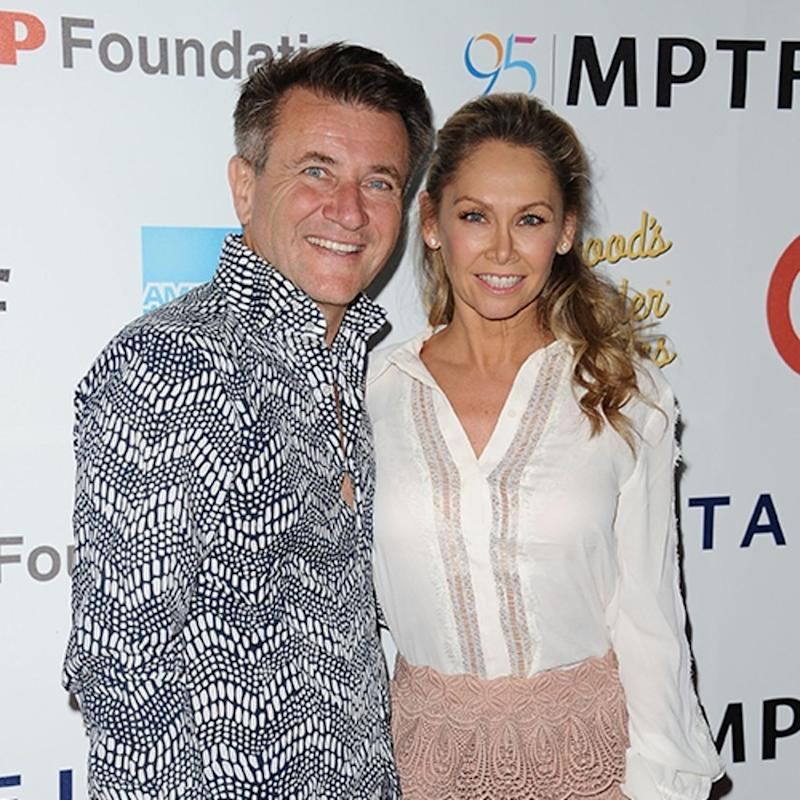 Dancing With the Stars ' Kym Johnson and Robert Herjavec Reveal Their Twins' Names