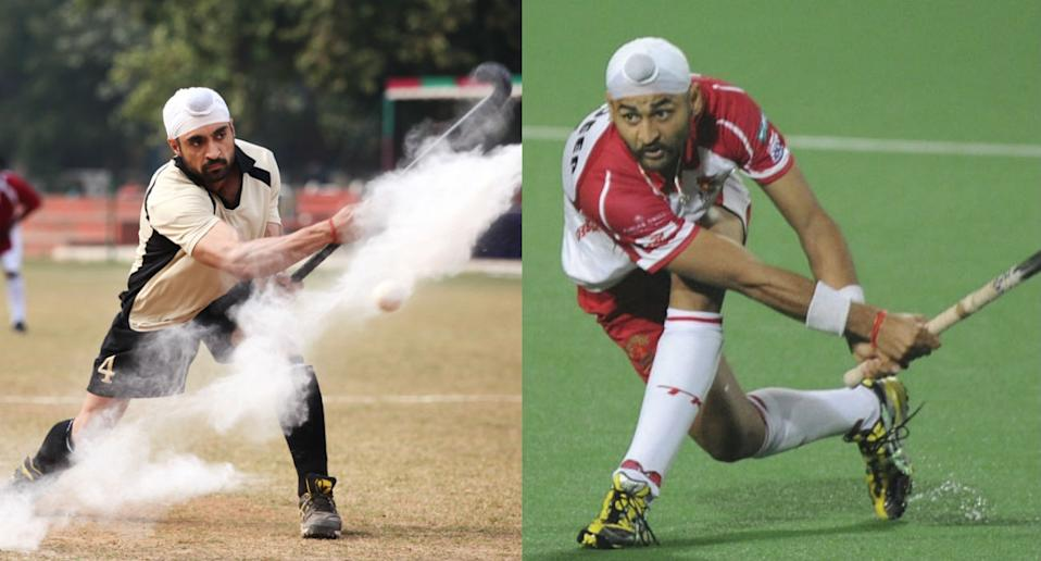 Diljit Dosanjh does a great job at portraying the life and triumphs of acre hockey player Sandeep Singh, who is also an Arjuna award winner. He hockey star made a comeback to Indian hockey team after being wheelchair bound when he had suffered a accidental bullet injury while on his way to 2006 world cup. <br>