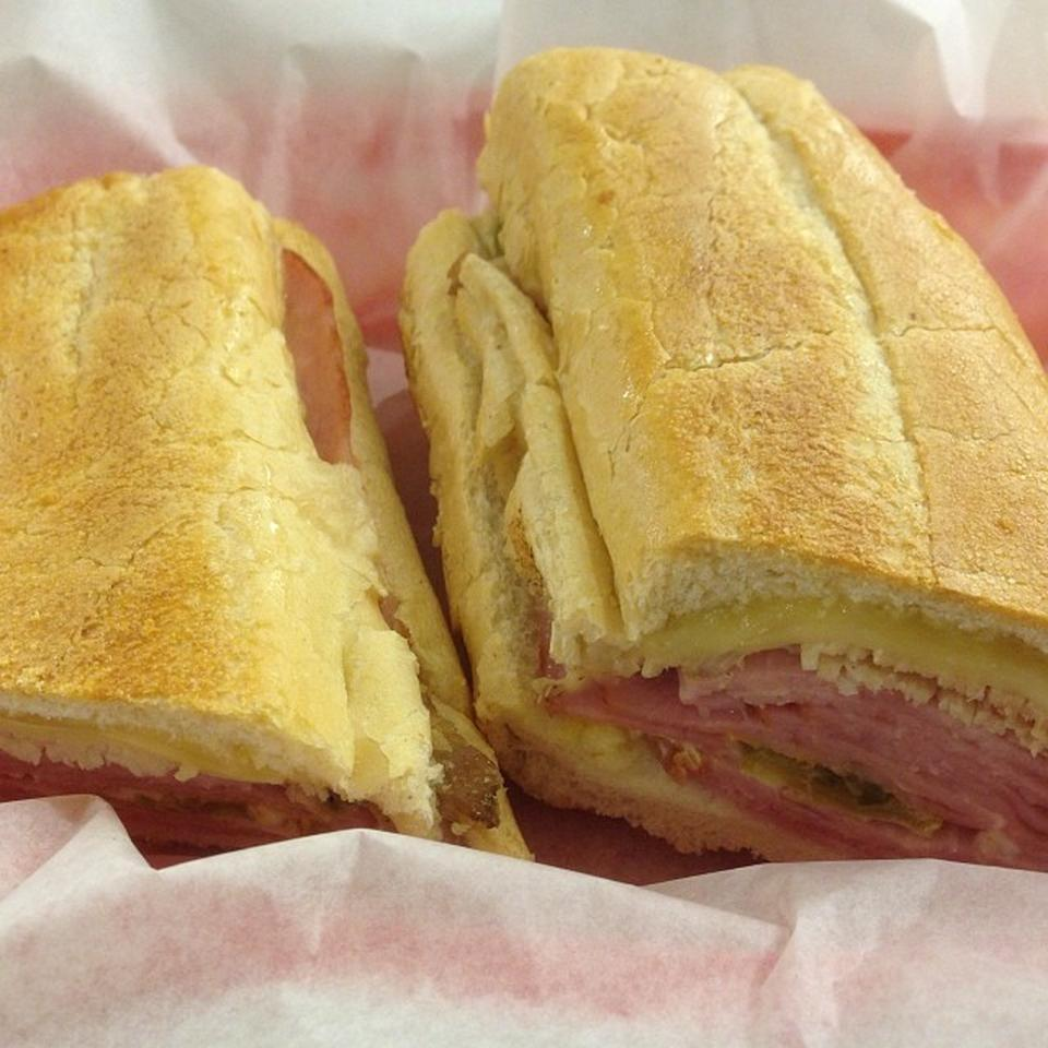 """<p>In Wynwood-Edgewater, with 83 tips and reviews. Ian Hall writes, """"Cuban sandwich here is one of the great joys in life … pair it with a power packed double espresso and you'll never want to walk out the door!"""" <a href=""""http://enriquetas.com/"""" rel=""""nofollow noopener"""" target=""""_blank"""" data-ylk=""""slk:186 N.E. 29th St."""" class=""""link rapid-noclick-resp"""">186 N.E. 29th St.</a></p><p><b><a href=""""https://cuba.yahoo.com/"""" data-ylk=""""slk:U.S. & CUBA   ONE YEAR LATER"""" class=""""link rapid-noclick-resp"""">U.S. & CUBA   ONE YEAR LATER</a></b></p><p><b><a href=""""https://cuba.yahoo.com/"""" data-ylk=""""slk:See more stories and slideshows >>>"""" class=""""link rapid-noclick-resp"""">See more stories and slideshows >>></a></b><br></p>"""