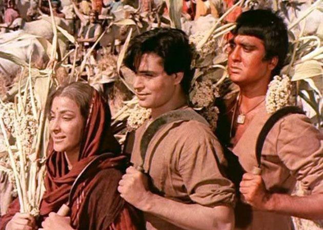 A still from Mother India.