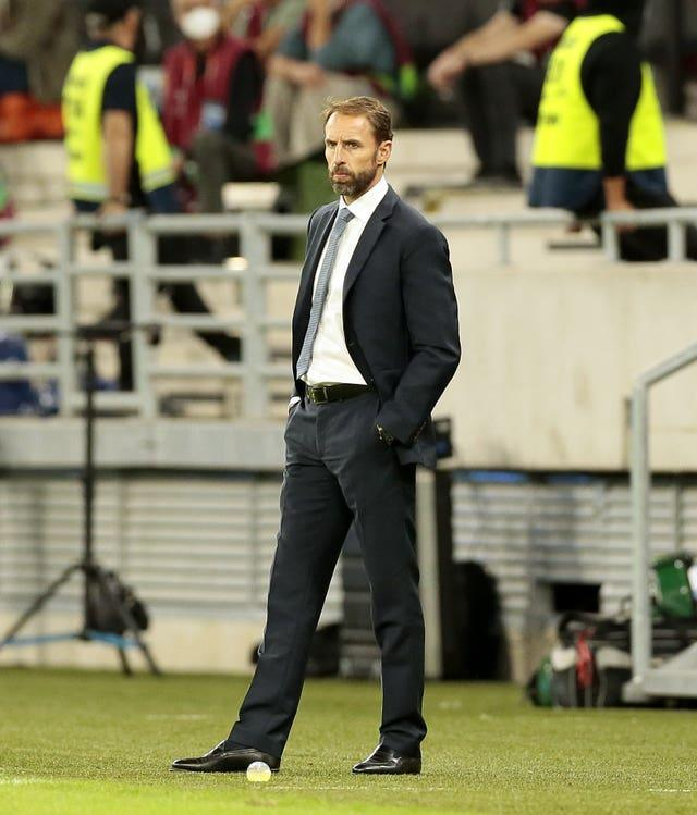England manager Gareth Southgate condemned the abuse of his team