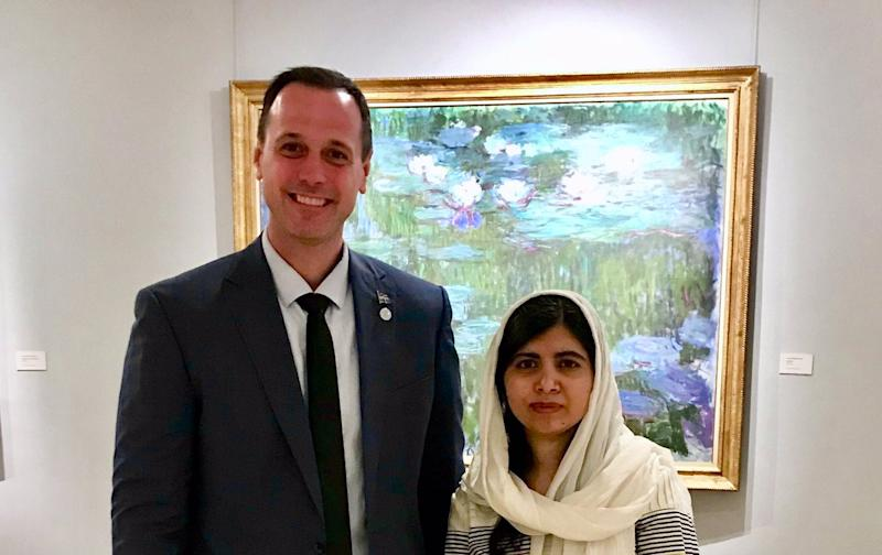 Why this Photo of Malala Yousafzai is Making People Call the Canadian Politician a 'Hypocrite'