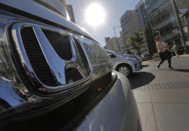 Honda's profit quadruples on disaster recovery