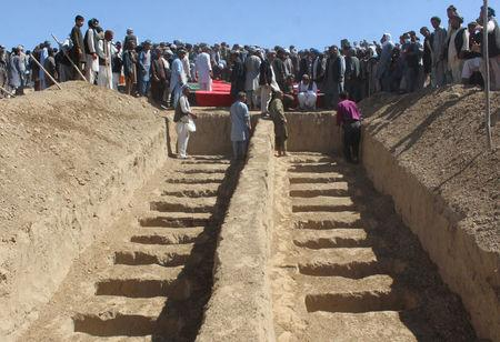 Mass Graves Found After Afghan Forces Recapture Village