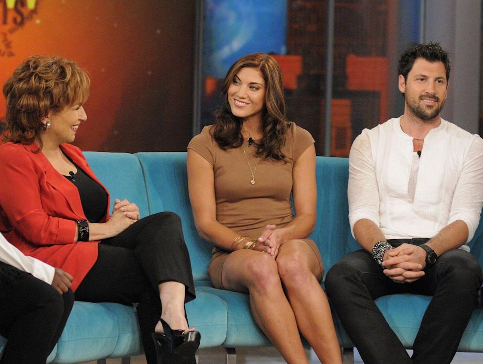<p>Hope had <em>a lot </em>to say about her time on the show—including her partner Maksim Chmerkovskiy. One of her biggest bombshells? An alleged secret memo that got sent out each week with who would be eliminated. According to Hope, her partner Maksim got wind of the so-called memo and caused a big stir with producers, which ended up saving them from being axed that week. </p>