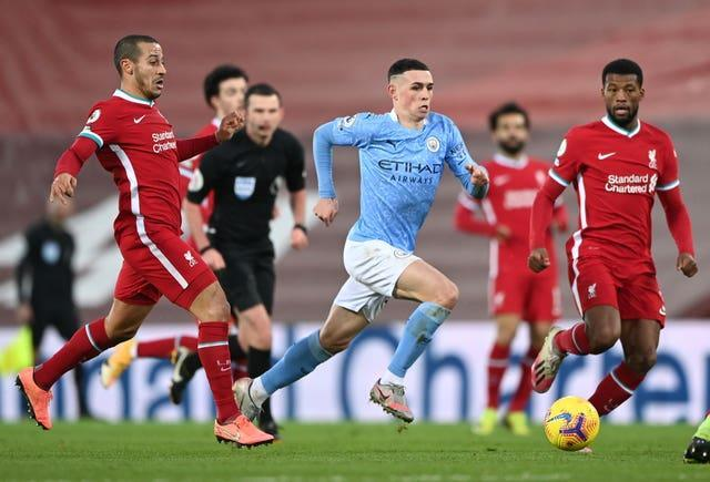 City and Liverpool have been title rivals in recent seasons