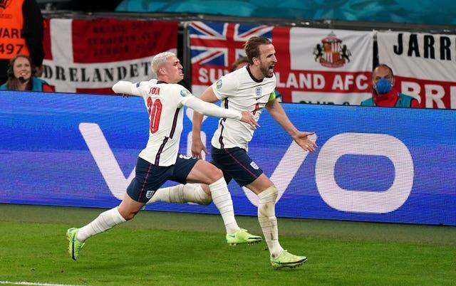 Harry Kane scored the winning goal as England beat Denmark in extra time to reach the final