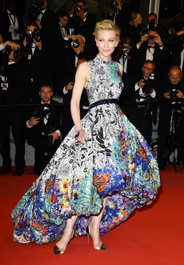Cate Blanchett at the 2018 Cannes Film Festival.