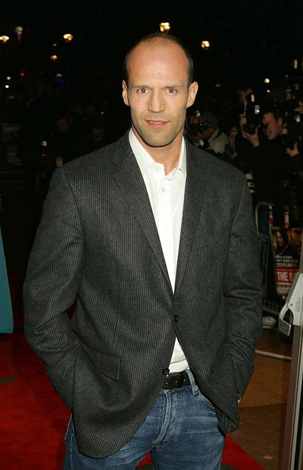 """British hunk Jason Statham is part of a new generation of bald action stars. Jon Furniss/<a href=""""http://www.wireimage.com"""" target=""""new"""">WireImage.com</a> - February 18, 2008"""