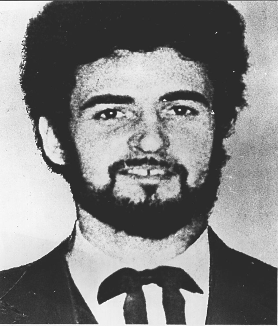 The Yorkshire Ripper, Peter Sutcliffe, killed 13 women in a series of brutal slayings from 1975 to 1980. Source: AP
