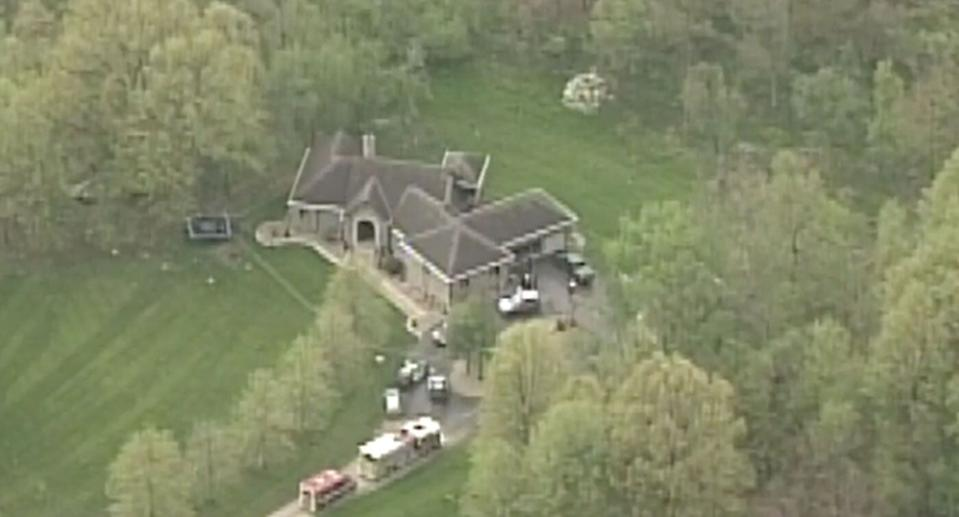 The home where the Reitter family were found dead. No carbon monoxide detectors were found inside the home. Source: WBNS